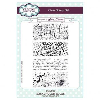 Clear stamp set - Background slices