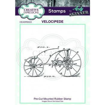 Rubber stamp - Velocipede
