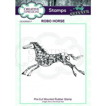 Rubber stamp - Robo horse