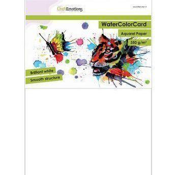 Aquarelpapier - Briljant wit A4 (350)