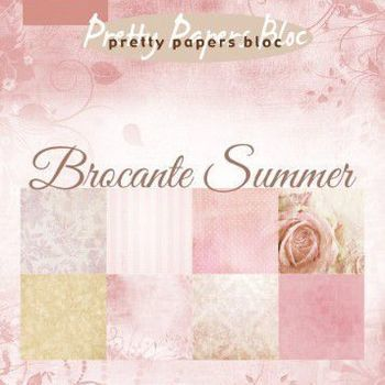 MD - Paper pad - Brocante summer