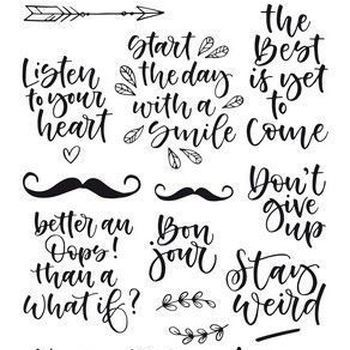 CraftEmotions - Handletter - Quotes 1