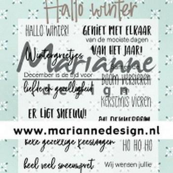 MD - Marleen's - Hallo winter