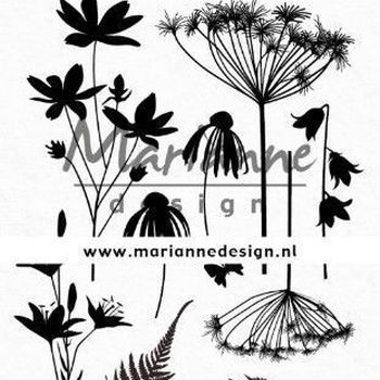 MD - Colorful silhouette - Botanisch