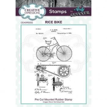 Rubber stamp - Race bike