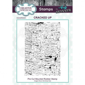 Rubber stamp - Cracked up