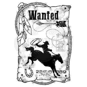 Clear stamp set - Wanted