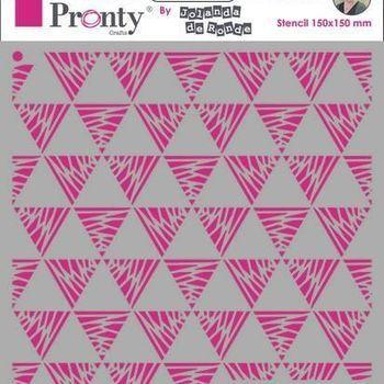 Pronty Mask stencil - Triangles