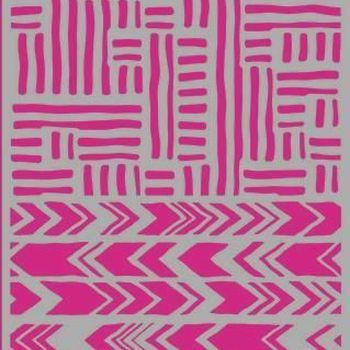Pronty Mask stencil - Stripes