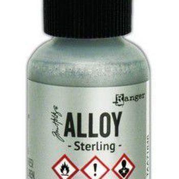 Ranger Alcohol Ink Alloys - Sterling