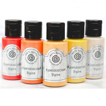 Cosmic Shimmer - Kaleidoscope paint set - Sunset boulevard