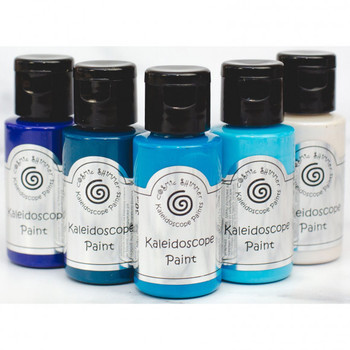 Cosmic Shimmer - Kaleidoscope paint set - Marine