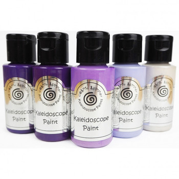 Cosmic Shimmer - Kaleidoscope paint set - Purple passion