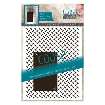 Coosa Crafts - Embossingfolder - Iron plate