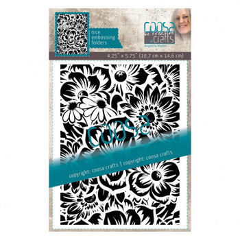 Coosa Crafts - Embossingfolder - Flower
