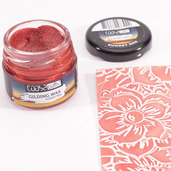 COOSA Crafts - Gilding wax - Twilight sunset red