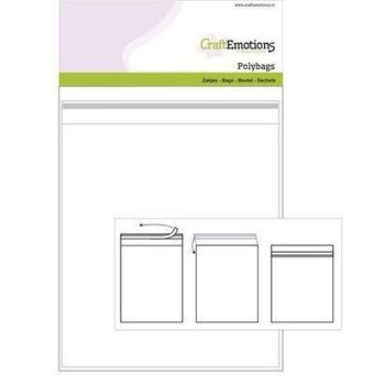 CraftEmotions - Zakjes zelfsluitend transparant (15)