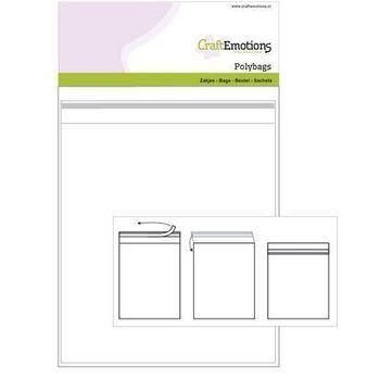 CraftEmotions - Zakjes zelfsluitend transparant (22)