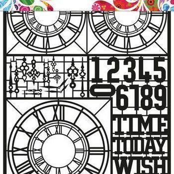 Paper Art - Clocks
