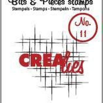 Crealies Clearstamp Bits & Pieces (11) - Sparkle