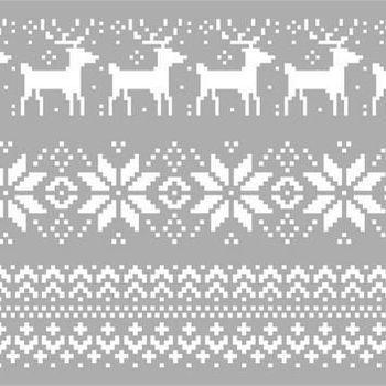 Pronty Mask stencil - Christmas pattern