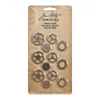 Tim Holtz - Sprocket gears ass.