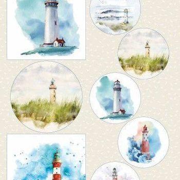 Marianne Design - Knipvellen - Lighthouses