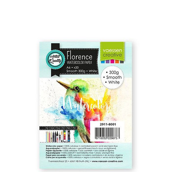 Aquarelpapier Florence - Smooth white A6 (300)