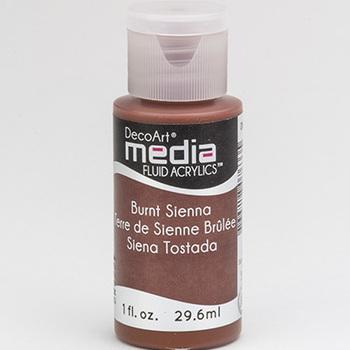 Mixed Media Acryl - Burnt Sienna (26)