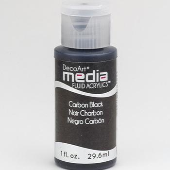 Mixed Media Acryl - Carbon Black (05)