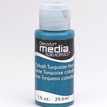 Mixed Media Acryl - Cobalt Turquoise Hue (09)