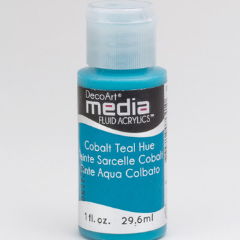Mixed Media Acryl - Cobalt Teal Hue (10)