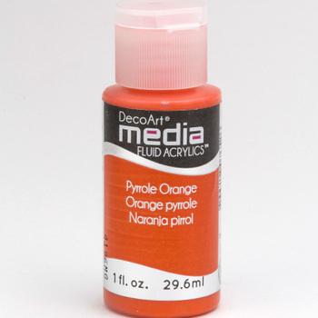 Mixed Media Acryl - Pyrrole Orange (21)