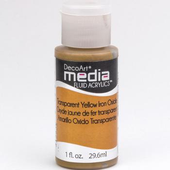 Mixed Media Acryl - Transparent Yellow Iron Oxide (42)