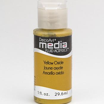 Mixed Media Acryl - Yellow Oxide (47)