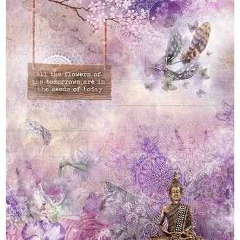 Studiolight Jenine's Mindful - Rice paper - 26