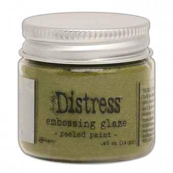 Ranger Distress Embossing glaze - Peeled paint
