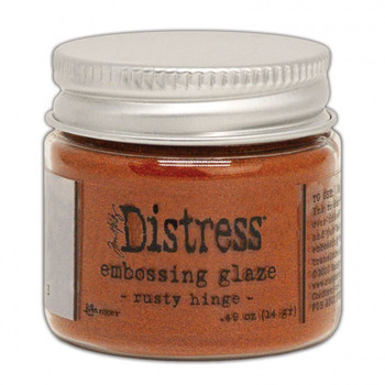 Ranger Distress Embossing glaze - Rusty Hinge