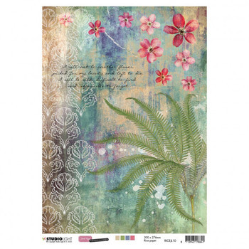 Studiolight Just Lou - Botanical - Rice paper nr 10