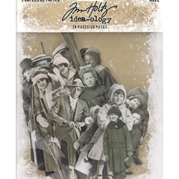 Tim Holtz Ideaology - Paper dolls Christmas