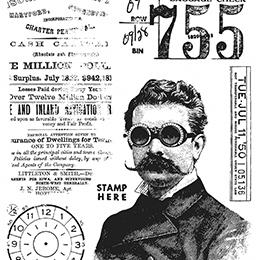 Tim Holtz - Stamp set - The professor 2