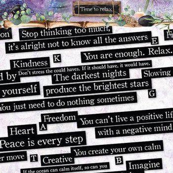 Studiolight Jenine's Mindful - Sticker A6 nr 05