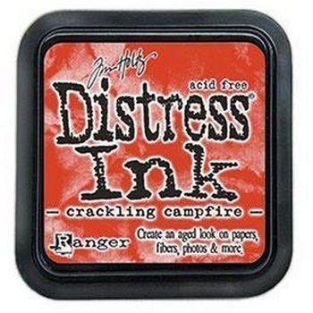 Distress ink pad - Crackling campfire