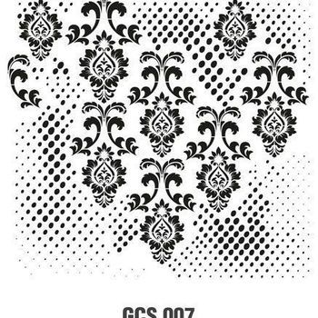 Cadence - Mask stencil - Grunch ornament 7
