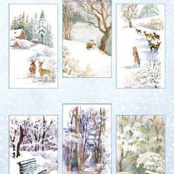 Marianne Design - Knipvellen - Spirit of winter