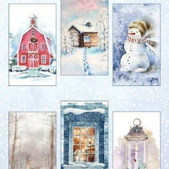 Marianne Design - Knipvellen - Winter wonderland