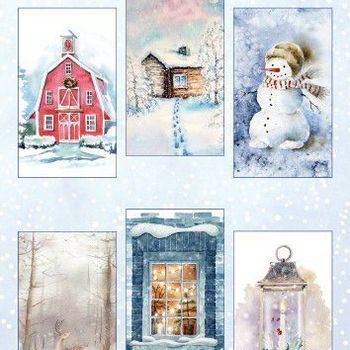 Marianne Design - Knipvellen - Winter wonderland