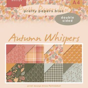 MD - Paper pad - Eline's Autumn whispers