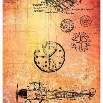 Studiolight Just Lou - Aviation - Rice paper nr 15