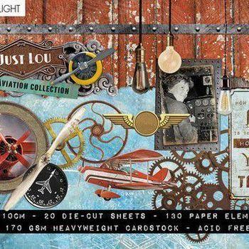 Studiolight Just Lou - Aviation - Stansblok nr 03